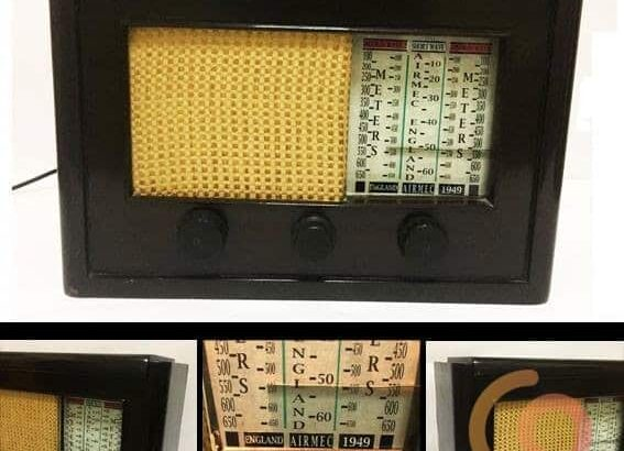 راديو خشب انجليزى ماركةAIRMEC