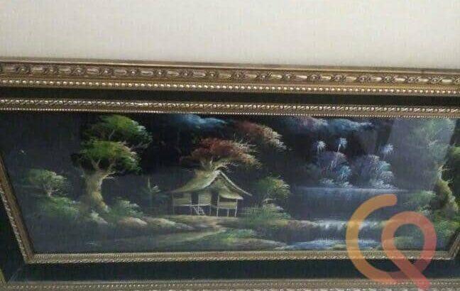 لوحة زيتية من القرن ال19