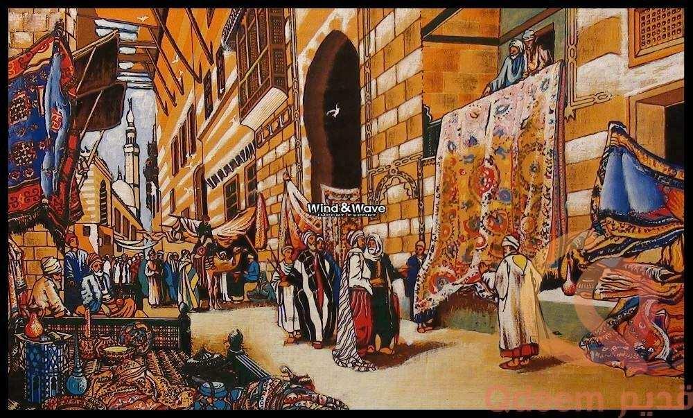 لوحات يدوية مصرية