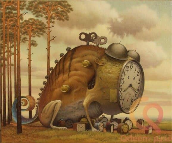 مجموعة منتقاة من لوحات الفن السريالى